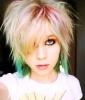 Emo Hair: Rainbow (Not-So) Bright