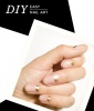 Easy Nail Art: Barely-There Gleam
