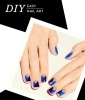 Easy Nail Art: Tri-Color Graphic Manicure