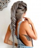 Silver Fishtail