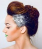 Glitter Hair: Flashy Fade