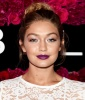 Gigi Hadid's Best Beauty Moments: Maroon Swoon