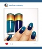 Mani of the Week: Blue Ombre Nails
