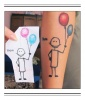 Balloon Man Tattoo