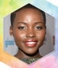 Lupita Nyong'o's Sparkly Teal Winged Liner