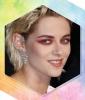 Kristen Stewart's Burgundy Smoky Eye
