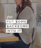 Put Some Backbone Into It
