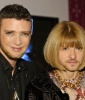 Justin Timberlake and Anna Wintour