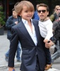 Mason Disick and Scott Disick