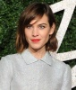 Alexa Chung's Perfect-for-the-Season Red Lip