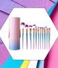 Leeron Makeup Brushes Set Colorful Unicorn (12 pcs), $19.99