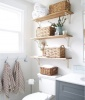 Reserve Above-Toilet Space for Organization