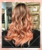 Highlighted Ombre Waves