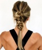 Braided Knot Ponytail