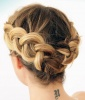 The Crown Braid Cheat for Seriously Short Hair