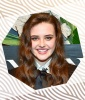 Katherine Langford's Cascading Side-Parted Waves