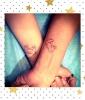 Mickey's Heart Hands Tattoo
