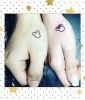 Mickey and Minnie Couple Tattoo
