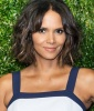 Halle Berry's Highlighted Lob