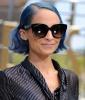 Nicole Richie's Electric Blue Bob