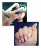 Out: Dagger Nails / In: Almond-Shaped Nails