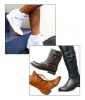 Out: Wedge Sneakers / In: Boots, Boots and More Boots