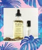 Isola Lavender + Vanilla Bean Perfume Body Oil Set, $44