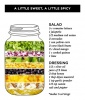 Mango Black Bean Salad in a Jar
