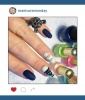 Mani of the Week: Suicide Squad Nail Art