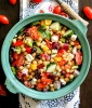 Chopped Chickpea Greek Salad