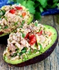 Zesty Tuna-Stuffed Avocado