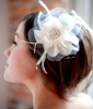 Bridal Hair Flower, $90