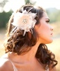 Bridal Hair Flower, $115