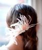 Bridal Fascinator, $110