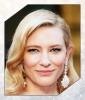 Cate Blanchett's Golden Gleam
