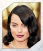 Margot Robbie's Plum Lip