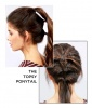 The Topsy Ponytail