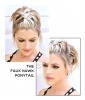 The Faux Hawk Ponytail