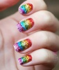 Rainbow Nails: Say It With Sparkle