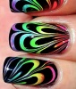Rainbow Nails: Give It a Whirl