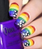 Rainbow Nails: Freedom Fingers