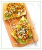 Chipotle Roasted Corn Avocado Toast