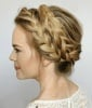 Romantic (and Do-able) Crown Braid