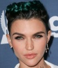 Ruby Rose's Blue-Green Hair in 2016