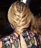 Diane Kruger's Peek-A-Boo Braid
