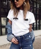 Summer Outfit Idea #7: Sassy T-Shirt and Jeans