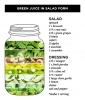 Super Green Salad in a Jar
