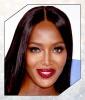 Naomi Campbell's Glittery Lips