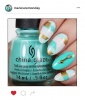 Mani of the Week: Dreamy Turquoise Nails
