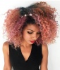 Rose Gold Corkscrew Curls